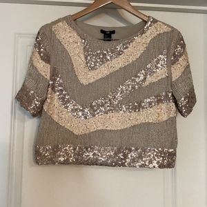 Sequined Top from H&M  Size M